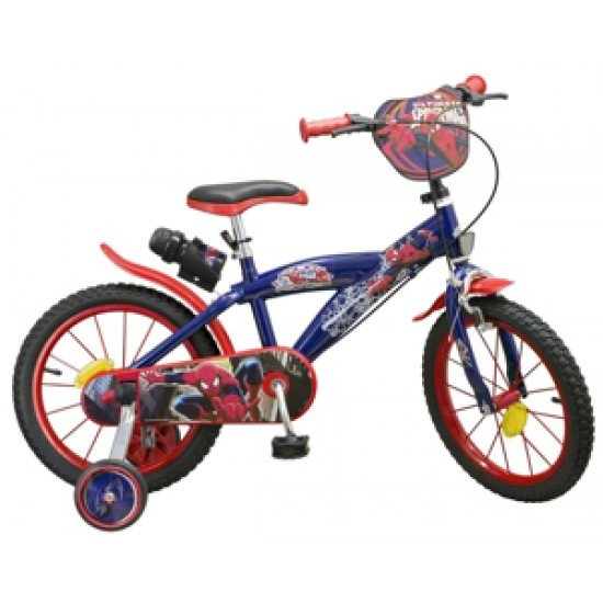 Bicicleta copii 16 inch Spiderman Toimsa