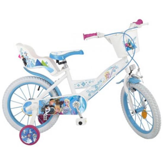 Bicicleta pentru fetite Frozen 16 inch Toimsa