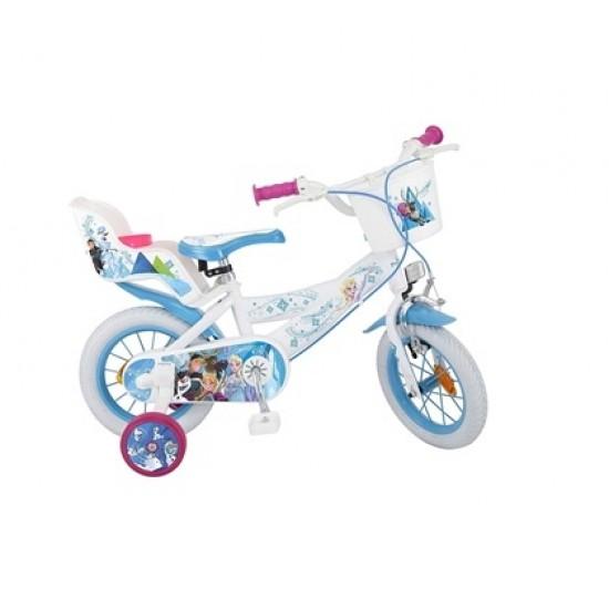 Bicicleta pentru fetite Frozen 12 inch Toimsa