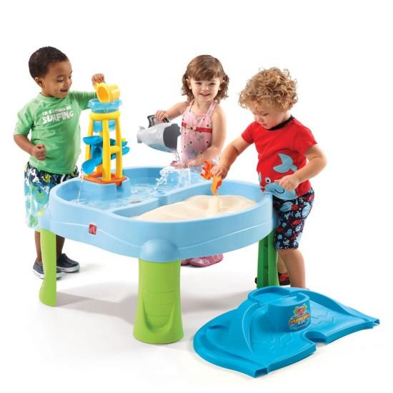 Masuta de joaca cu apa si nisip