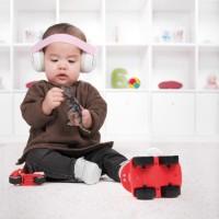 Casti antifonice pentru bebelusi Alpine Muffy Baby Pink ALP24951