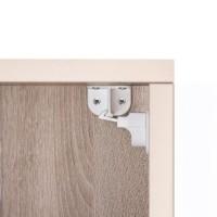 Pachet economic 4 incuietori magnetice pentru sertare si usi de dulapuri REER 51020