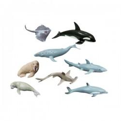 Set 8 figurine animale marine - Miniland