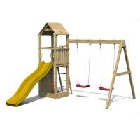 Complex joaca din lemn Fungoo Flappi