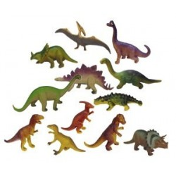 Set 12 figurine Dinozauri - Miniland