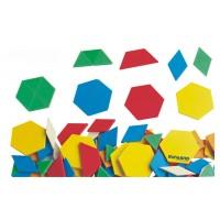 Forme geometrice diverse Miniland 250 piese