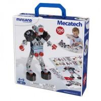 Joc constructii Mecatech Miniland 106 piese