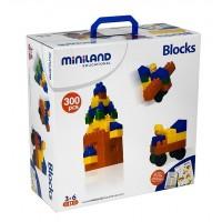 Joc de constructii Caramizi Miniland 300 piese