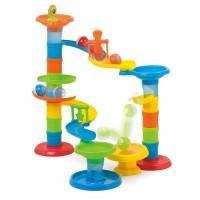 Joc educativ Miniland - Turnul cu Rollercoaster