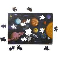 Primul meu puzzle eco din carton Spatiul - Melissa and Doug