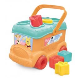 Jucarie bebelusi Autobuz de sortat forme Winnie Clementoni