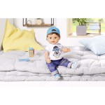 Papusa fratior interactiv Baby Born 43 cm