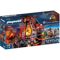 Playmobil Novelmore - Banditii Burnham si mina de lava