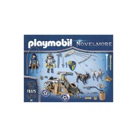Echipa lupilor Novelmore cu tun Playmobil