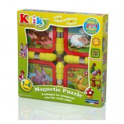 Kliky puzzle magnetic animale de la ferma