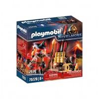 Playmobil Novelmore - Maestrul Burnham al focului