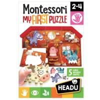 Montessori primul meu puzzle - Ferma