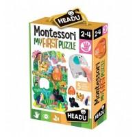 Primul meu puzzle Montessori  - Jungla