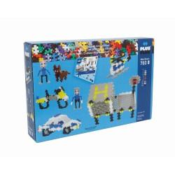 Set constructie Plus-Plus Basic Politie - 760 piese