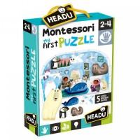 Primul meu puzzle Montessori - Polul Nord