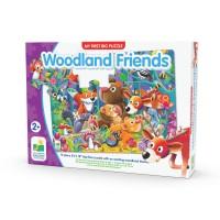 Primul meu puzzle de podea 12 piese - Prietenii padurii