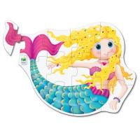 Primul meu puzzle de podea 12 piese - Sirena