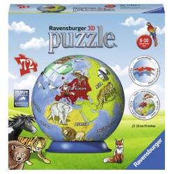 Puzzle 3D Glob - 72 piese