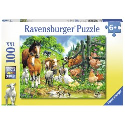 Puzzle Animale - 100 piese