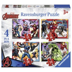 Puzzle Avengers - 12/16/20/24 piese