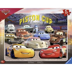Puzzle Cars 3 - 35 piese