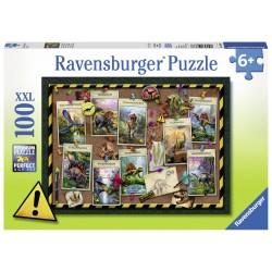 Puzzle Dinozaur - 100 piese