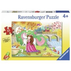Puzzle La plimbare - 35 piese