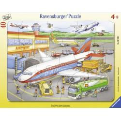 Puzzle mic aeroport - 40 piese