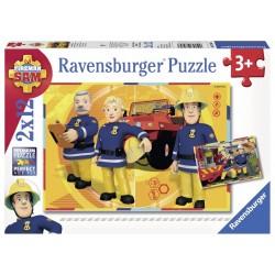 Puzzle Pompierul Sam 2x12 piese
