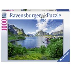 Puzzle Portul Lofoten - 1000 piese