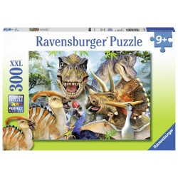Puzzle Poza dinozaurilor - 300 piese