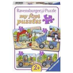 Puzzle Santier - 2/4/6/8 piese