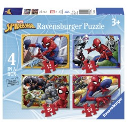 Puzzle Spiderman - 12/16/20/24 piese