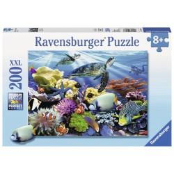 Puzzle Testoase de ocean - 200 piese