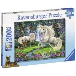 Puzzle Unicornii mistici - 200 piese