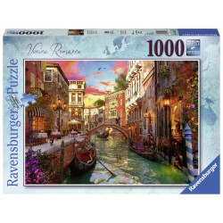 Puzzle Venetia romantica 1000 piese