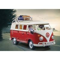 Autobuz de camping Volkswagen T1 Playmobil