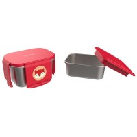Kit pentru pranz din otel inoxidabil Skip Hop Zoo Vulpe