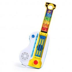 Jucarie muzicala 2 in 1 chitara si pian Flip & Riff Keytar Baby Einstein
