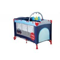 Patut Pliant cu 2 nivele Sleepwell Car BabyGo