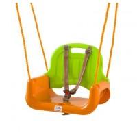 Leagan transformabil 3 In 1 BabyGo - Green Orange