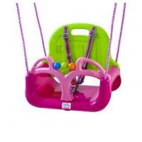 Leagan transformabil 3 In 1 BabyGo - Pink Green