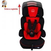 Scaun Auto Freemove Red BabyGo - grupa 9-36 kg