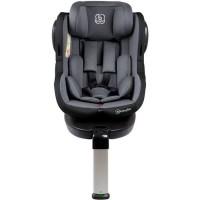 Scaun auto cu Isofix Rotativ 360 Iso BabyGo 0-18 kg – Gri