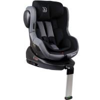 Scaun auto cu Isofix Rotativ 360 Iso BabyGo - Negru